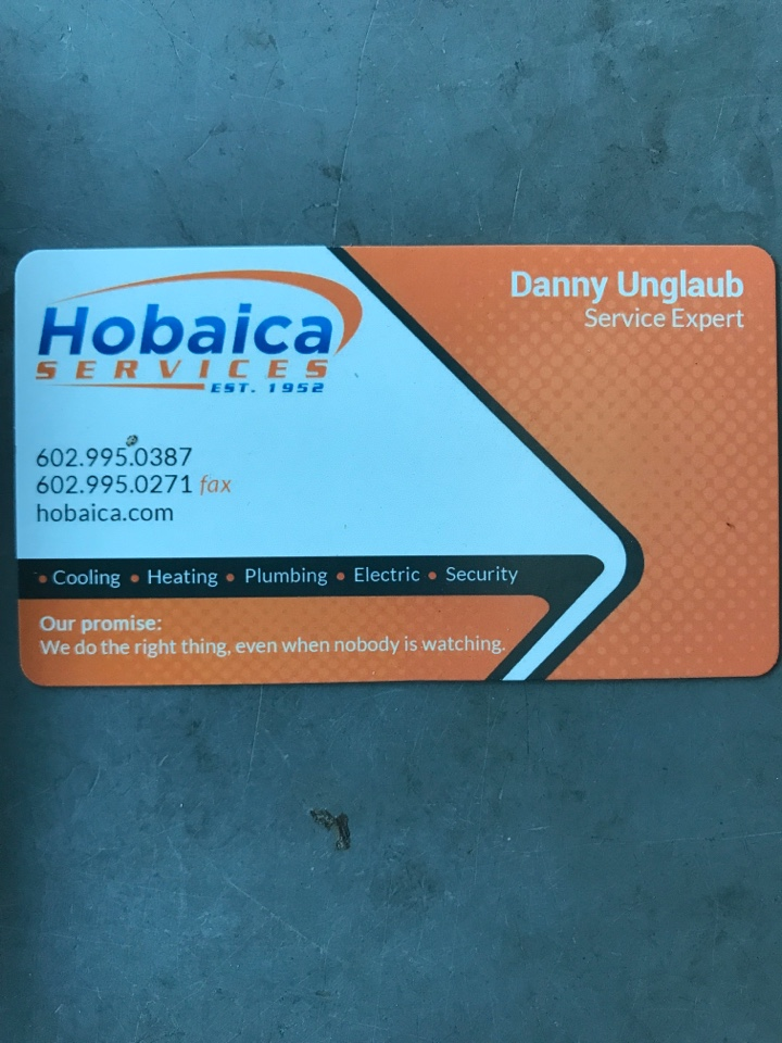 Chandler, AZ - Hey Bette this is Danny with Hobaica I forgot GOOGLE can be selected by using this platform. I only ask for 2 things! 5 stars and mention my name in your comment please!! Thank you Bette and Parker!
