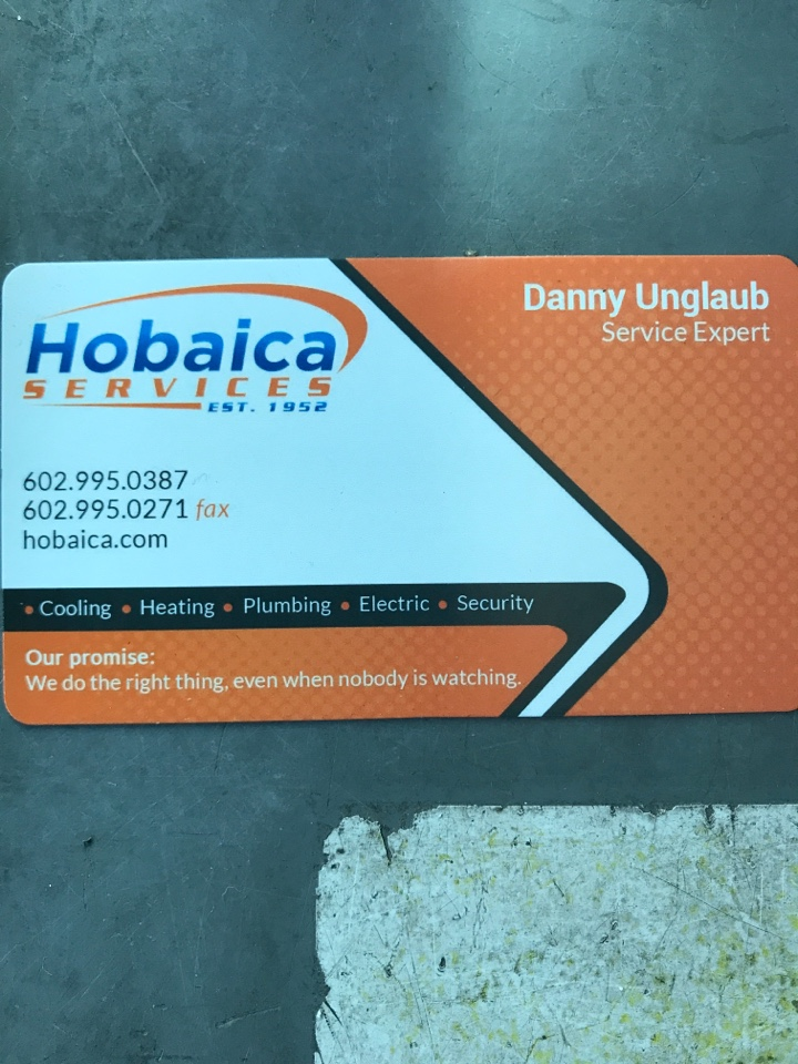 Chandler, AZ - Good morning Jo! This is Danny U with Hobaica. So here is that review link. Again a GOOGLE review is the best type of review I can get so be sure to select GOOGLES link for the survey and just be sure to name Danny!! Thank you Jo 🙏
