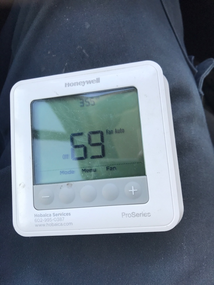 Phoenix, AZ - WARRANTY 2ND YEAR (12-4) SD THE UNIT IS NOT HEATING AGAIN AND ALSO RECORDED A VIDEO OF THE UNIT ACTING UP