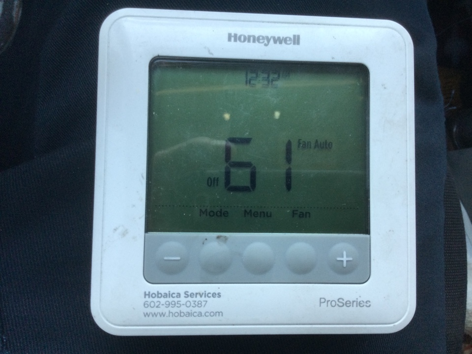 Sun Lakes, AZ - See about installing customer supplied thermostat Wi-Fi enabled. Try installing on thermostat and have to install old one because the new thermostat doesn't work