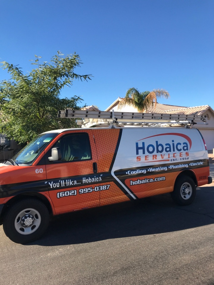 Gilbert, AZ - In Gilbert, Az , I completed a heating maintenance inspection on a Lennox split heat pump. I checked indoor temperature splits, airflow, amp draw on motors, flushed drain line and drain pan, Checked refrigerant pressures, amp draws and electric connections at condenser. This unit is operating properly at this time thank you for choosing Hobaica!