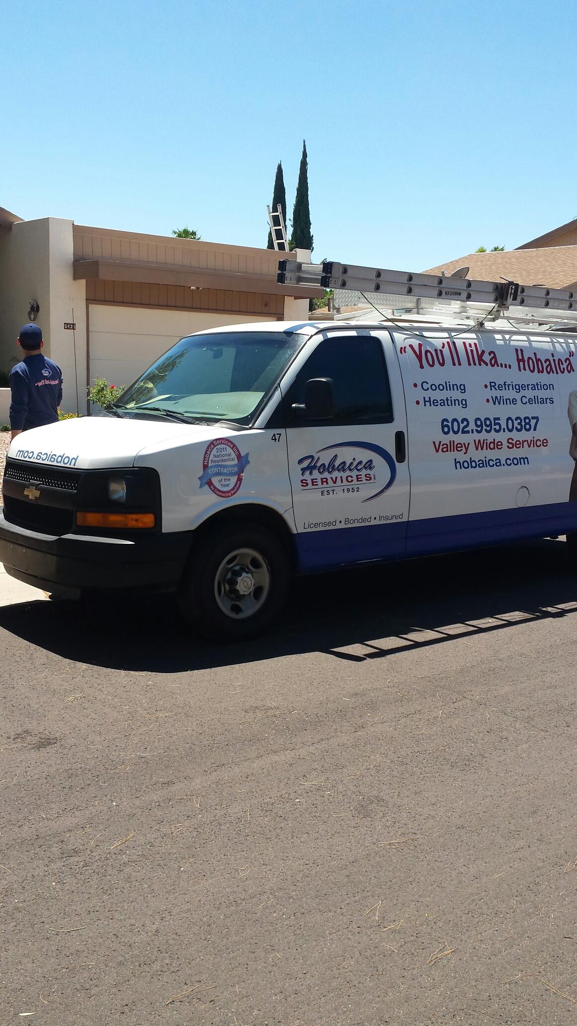 Phoenix, AZ - Performing A/C Maintenance