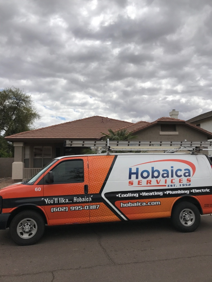 Glendale, AZ - In Glendale Arizona, I completed a $69 tuneup for the HVAC system on a train split furnace and straight cool unit. Inspection went well I found that the drain line had some flood risks that I brought up to the owner in which he wanted to address and resolve today which we did by installing a condensate safety switch to the drain pan. This is a float switch that will cut power in the event if water backs up in the drain pan. The unit is operating properly at this time!