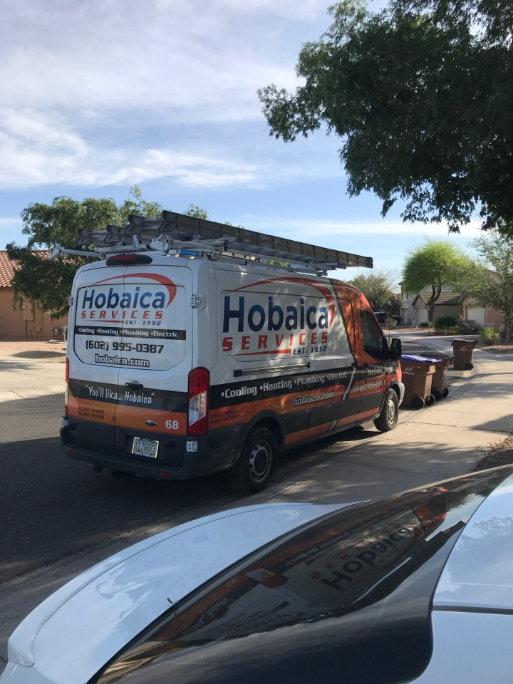 San Tan Valley, AZ - Performed gas split furnace and AC maintenance in cooling. Checked air filter, thermostat, coils, electrical, capacitors, controls, safeties, airflow, temperature split, refrigerant pressures, motors and bearings, compressor and amperages, flushed condensate drain line and rinsed outdoor coil with water. System is operating normally and readings are within manufacture specifications at this time. Thank you for your continued confidence.