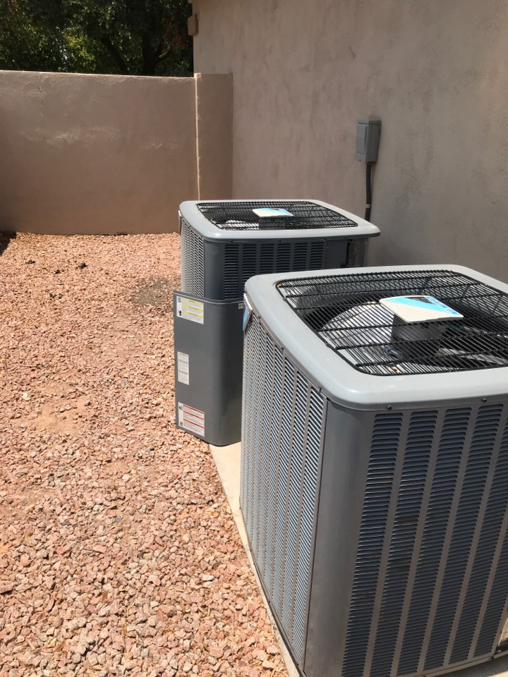 Chandler, AZ - South bedroom system, Daikin serial number 2007045094. I found the thermostat reading communication error and system not functioning. I found the correct system in the attic with a bypassed blower limit switch and I verified the limit switch was failed and open. I replaced it with the OEM blower  limit switch and verified the condensate safety is dry, then upon resetting outdoor equipment everything came back online operating properly.
