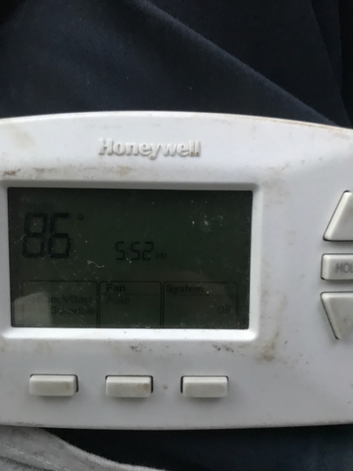 Chandler, AZ - Quality control inspection of newly installed system, fix condensate pump that's in the way of filter changed and fixed heating issue
