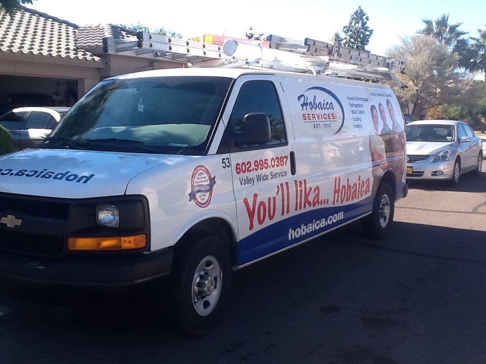 San Tan Valley, AZ - AC maintaince replaced contactor.