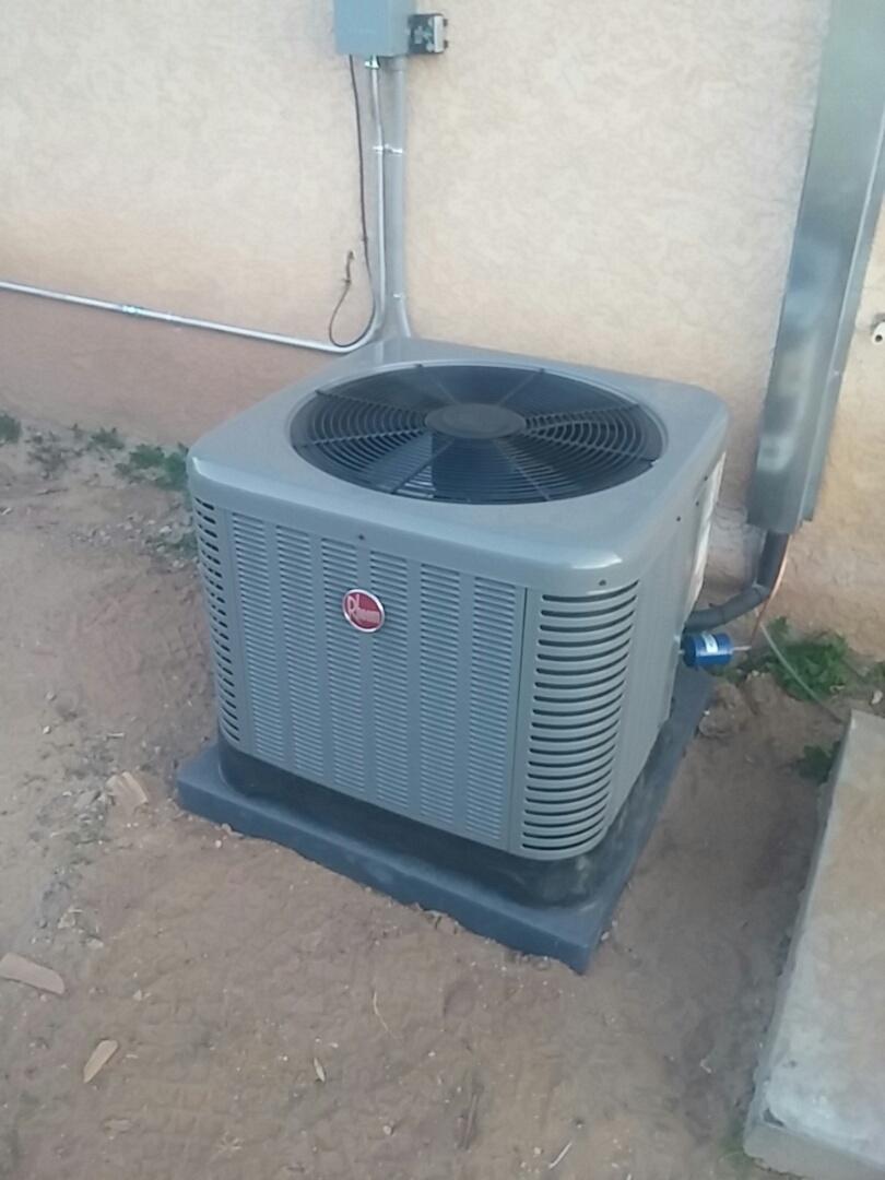 Albuquerque, NM - Swamp cooler to refrigerated air conversion