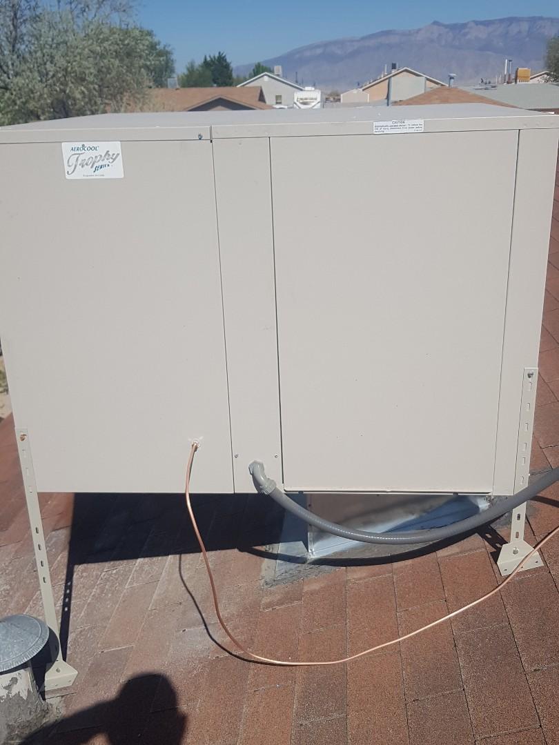 Rio Rancho, NM - Spring startup aerocool evap cooler