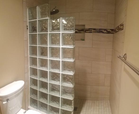 Tacoma, WA - Custom tile shower.