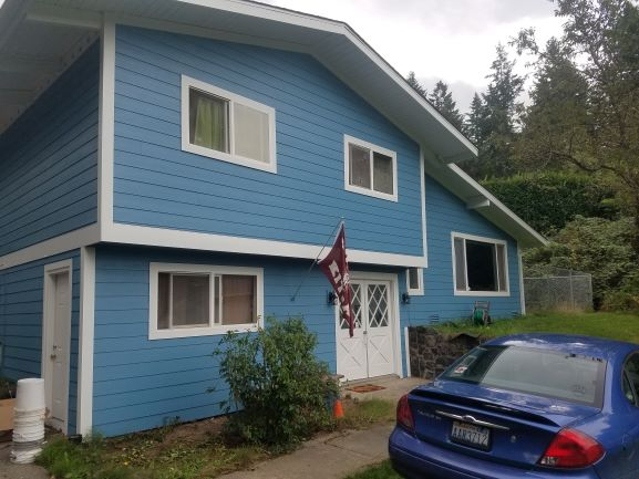 Port Orchard, WA - Added Hardy plank Siding and a new roof.