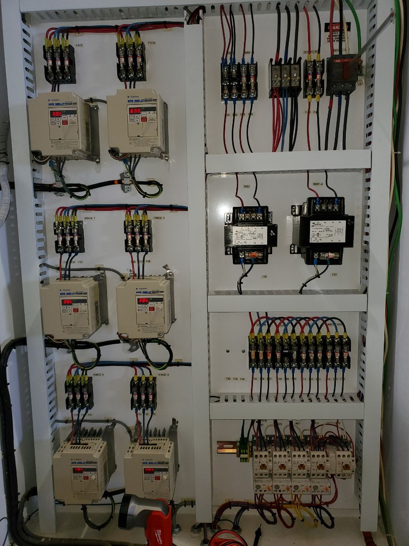 Rosenberg, TX - Repaired a circuit for an electrical motor for BMC in Rosenberg