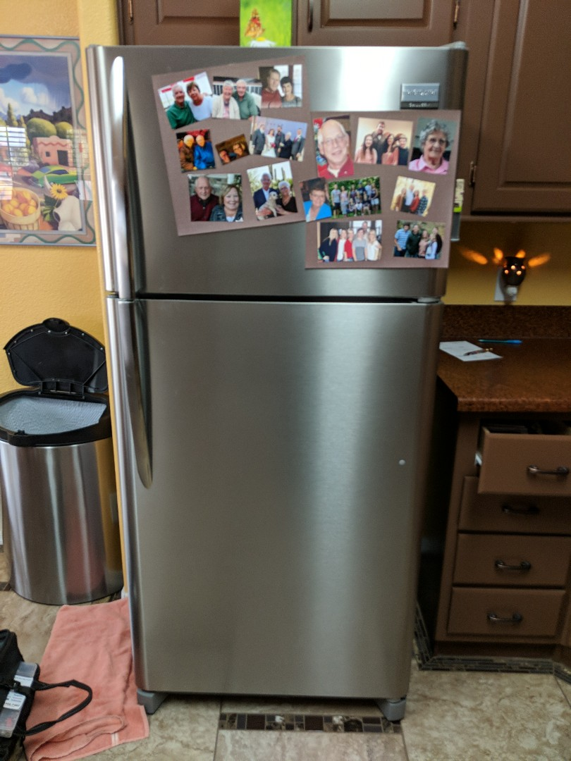 Mesa, AZ - Frigaire Refrigerator not making ice and leaking water.