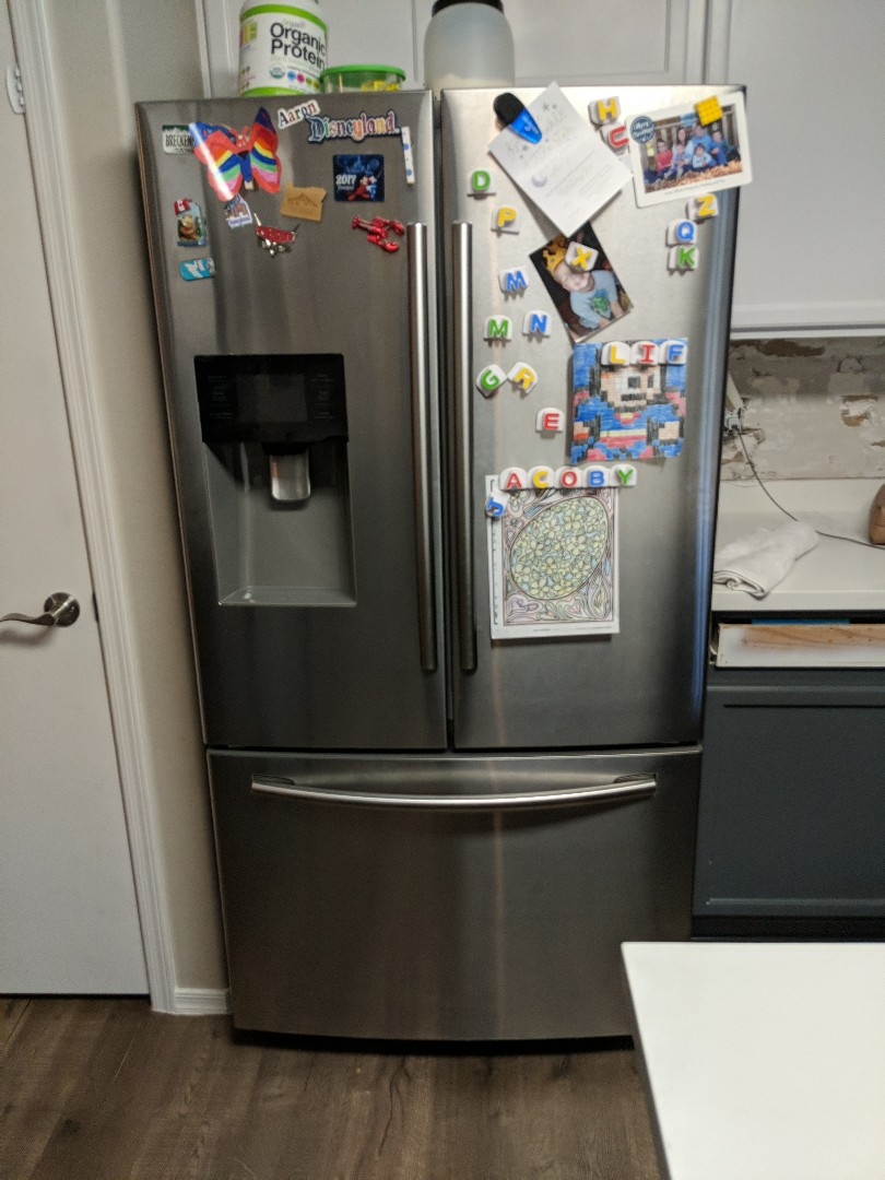 Mesa, AZ - Samsung refrigerator not dispensing water.