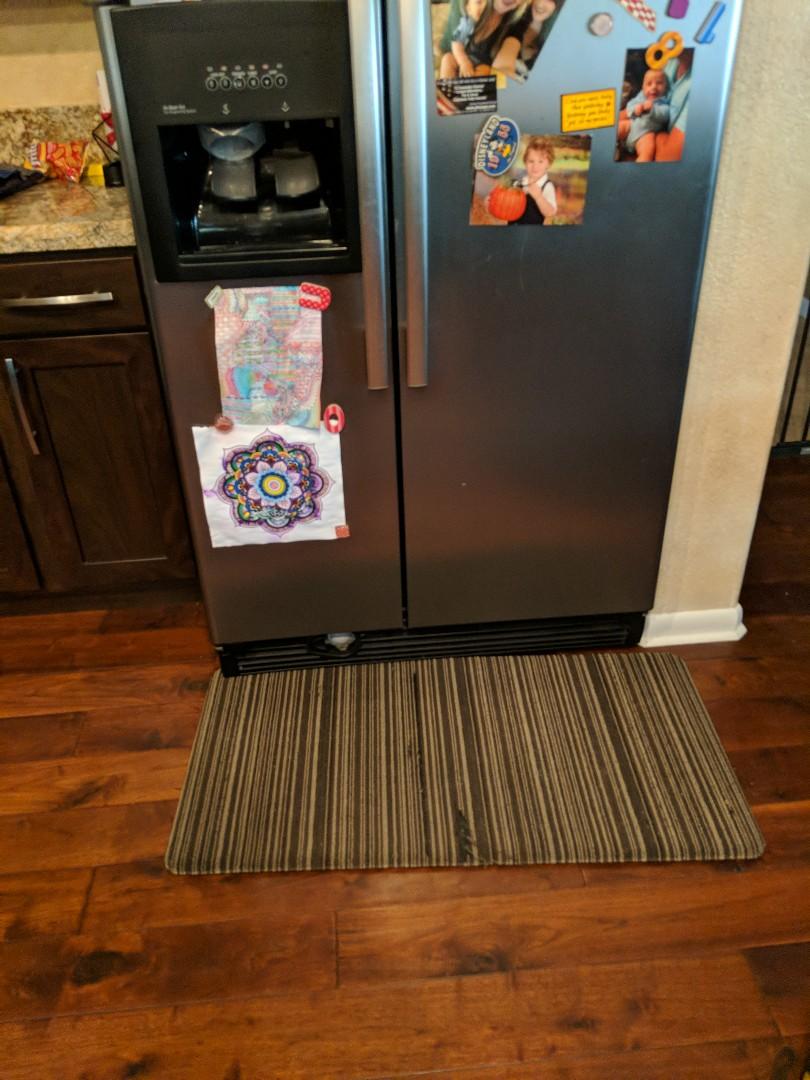 Whirpool refrigerator not making ice.