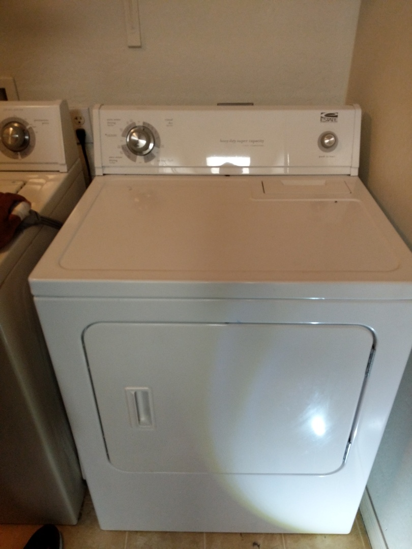 Mesa, AZ - Estate dryer will start but will not tumble.