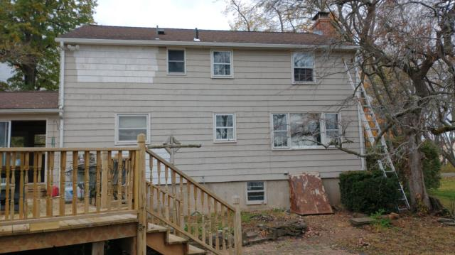 Granby, CT - Gutter installation due to storm damage