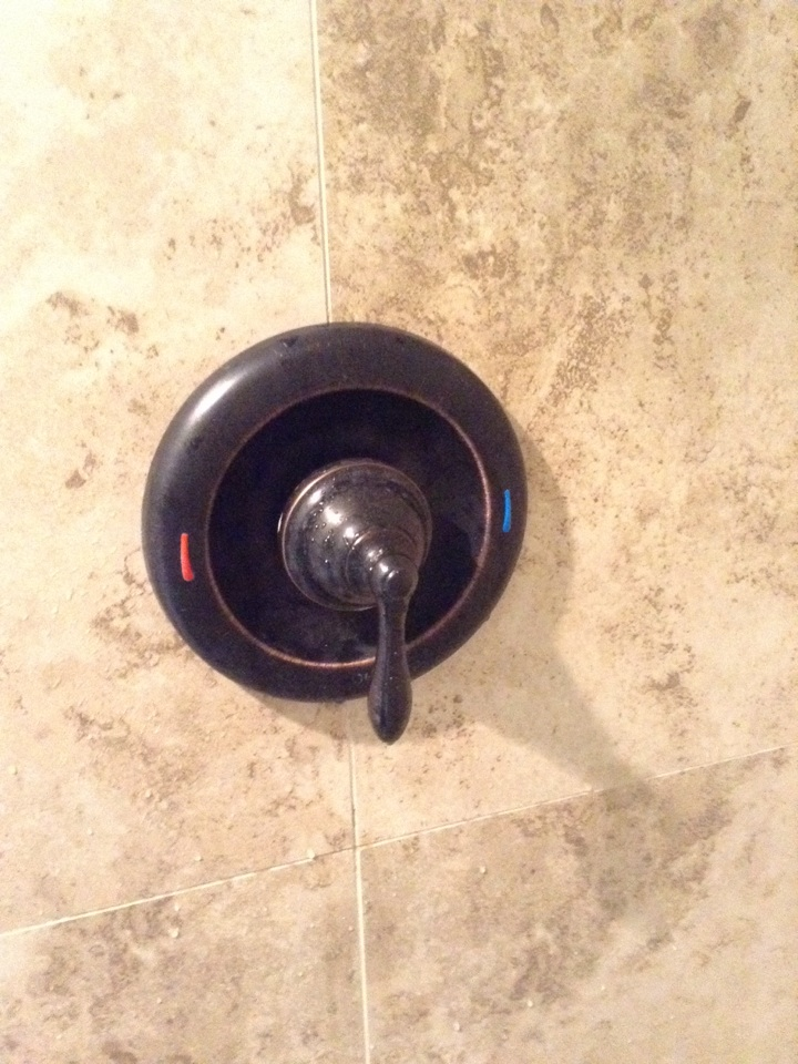 Hard water caused this moen posi-temp shower valve to not turn on... Removed and replaced with original moen product...