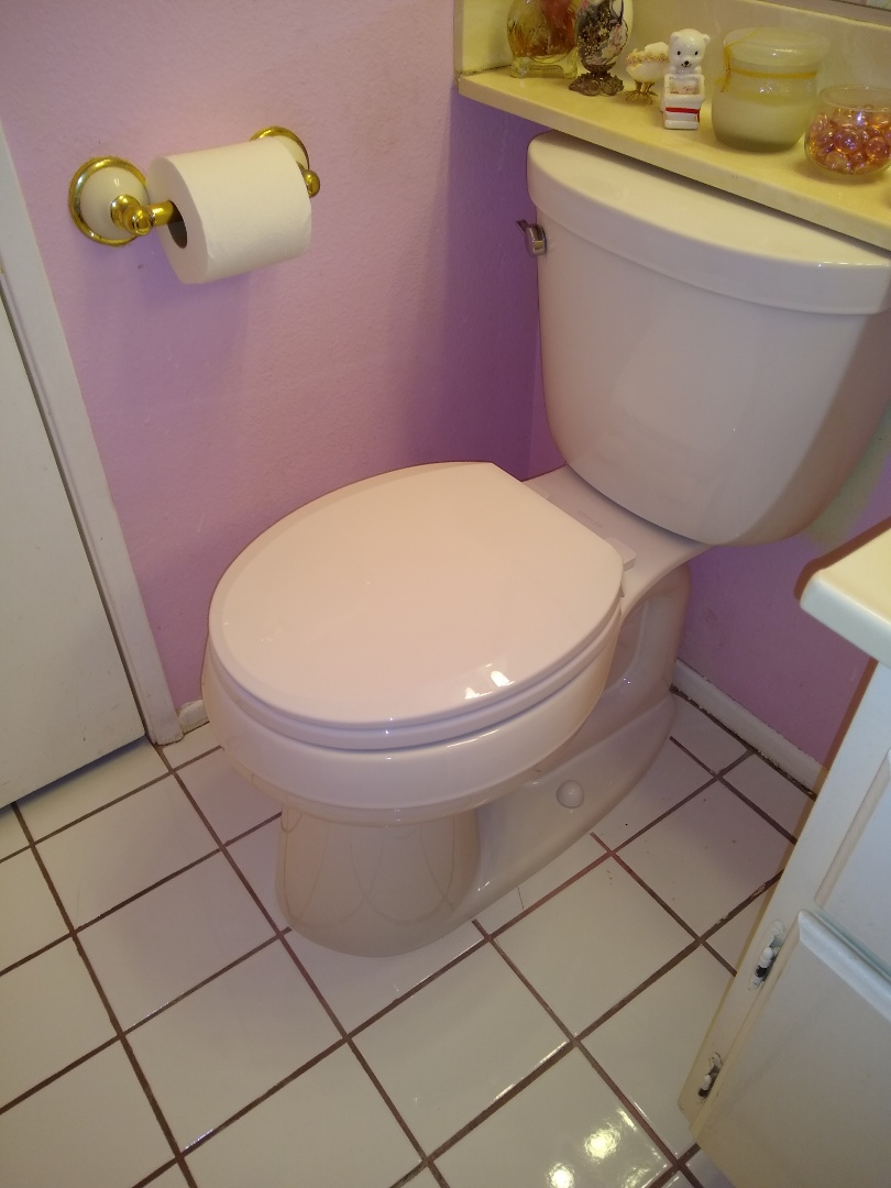 Removing and replacing a new Kohler toilet bowl