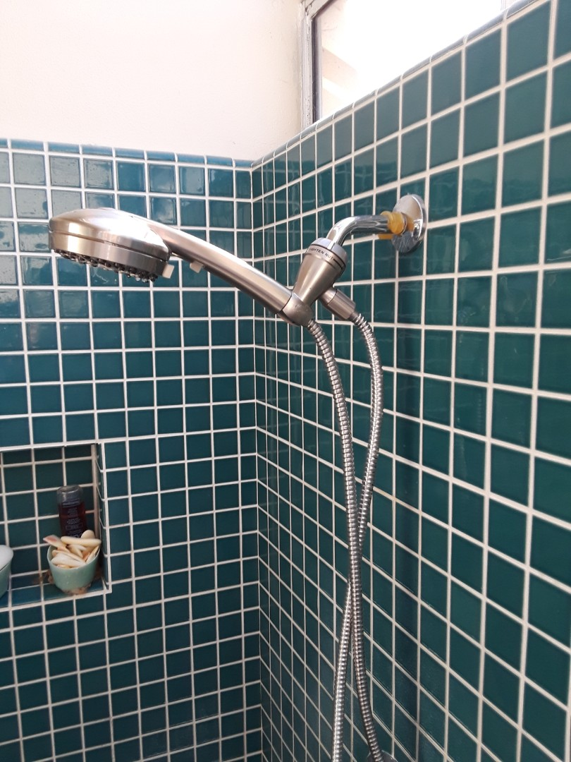 Working on a shower hand held  system