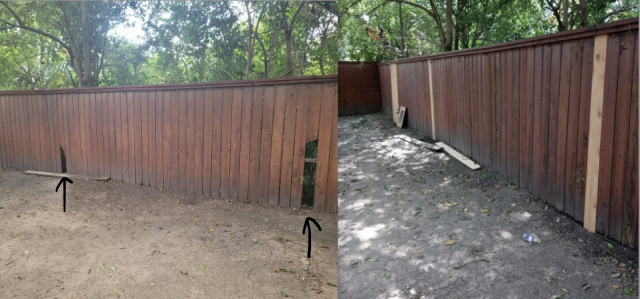 Austin, TX - Let us help fixing your fence!