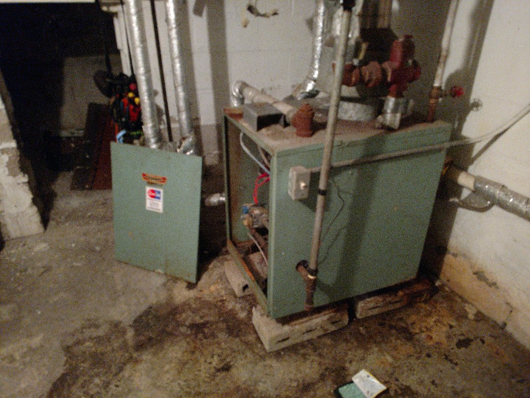 Kenosha, WI - Performed repair on Peerless boiler.