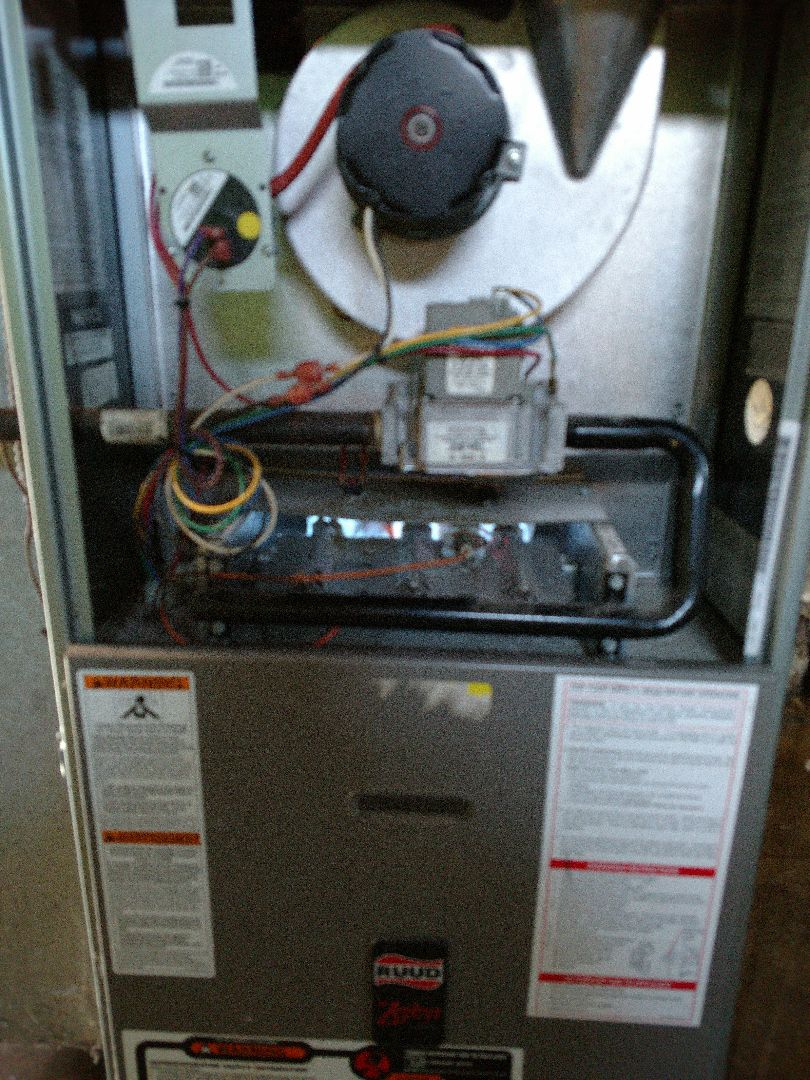 Kenosha, WI - Performed repair on Ruud furnace