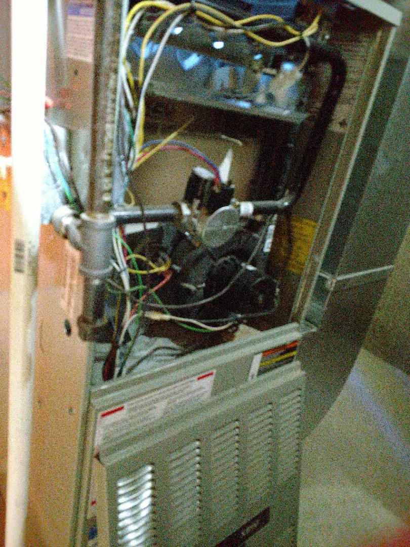 Kenosha, WI - Performed repair on Trane high efficiency furnace