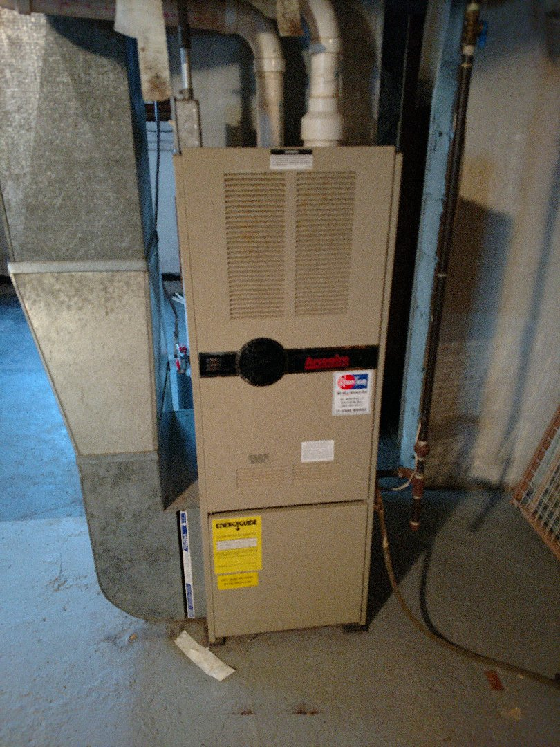 Kenosha, WI - Performed repair on Arcoaire high efficiency furnace