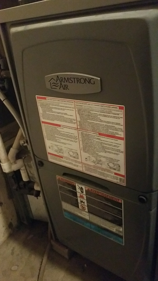 Kenosha, WI - Performed furnace tuneup on Armstrong Furnace