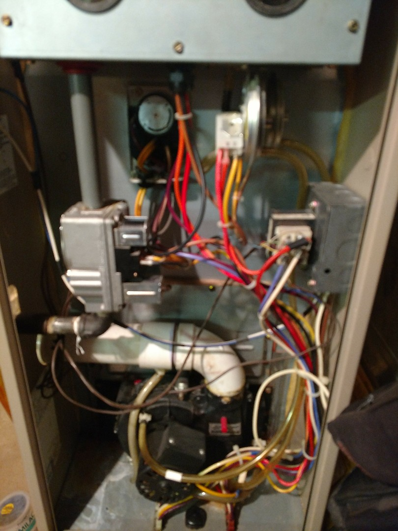 Kenosha, WI - Performed repair on York high efficiency furnace