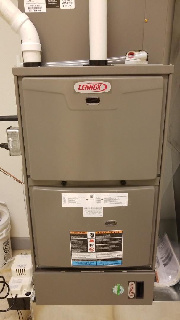 Waukesha, WI - Furnace repair on Lennox furnace