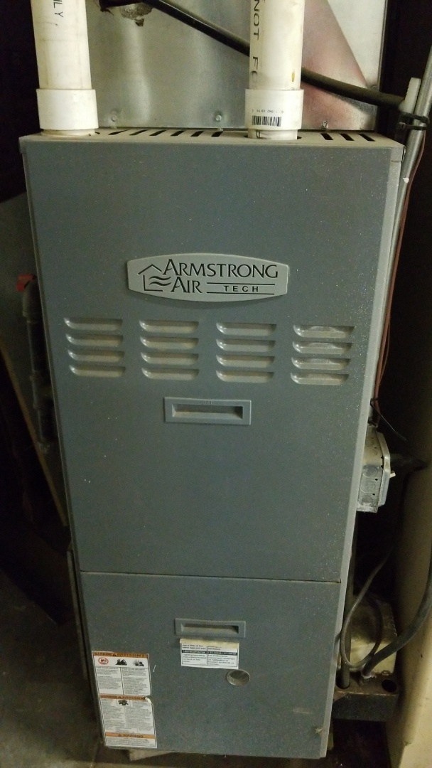Waukesha, WI - Furnace tune up on Armstrong  Air furnace