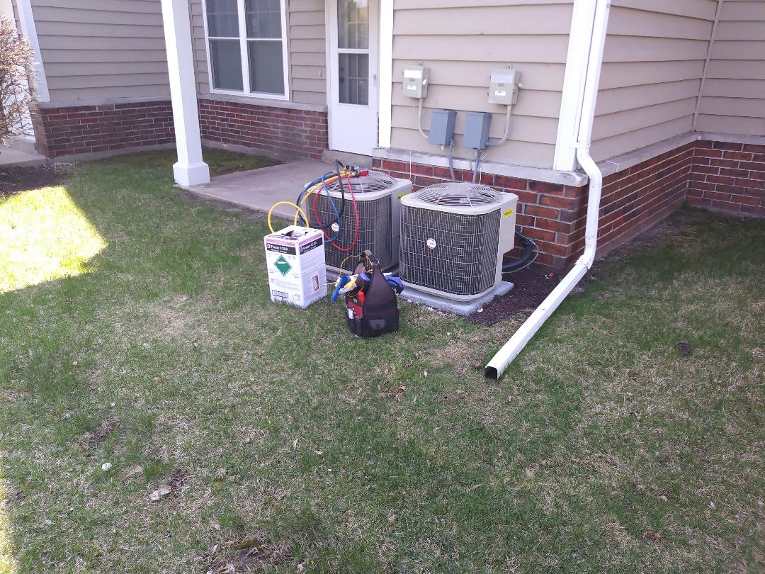 Franklin, WI - AC start up payne Air Conditioner