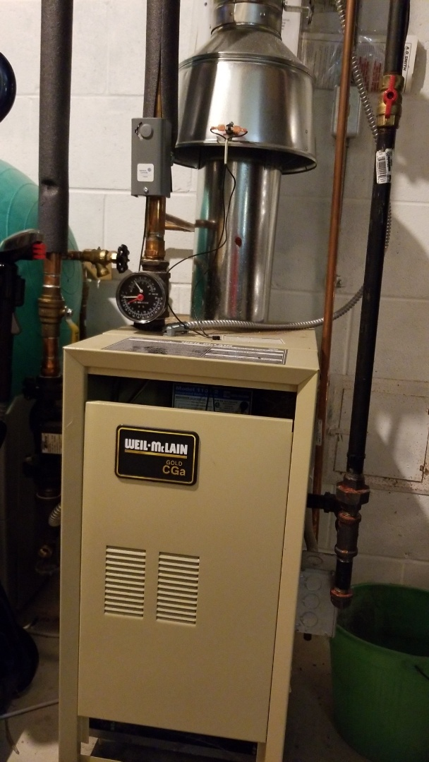 West Allis, WI - Heating repair on Weil mclain Boiler