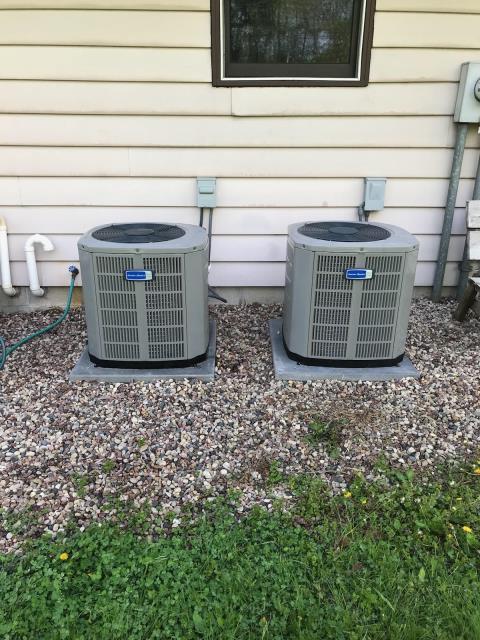 Waukesha, WI - Installed 2 American Standard AC units