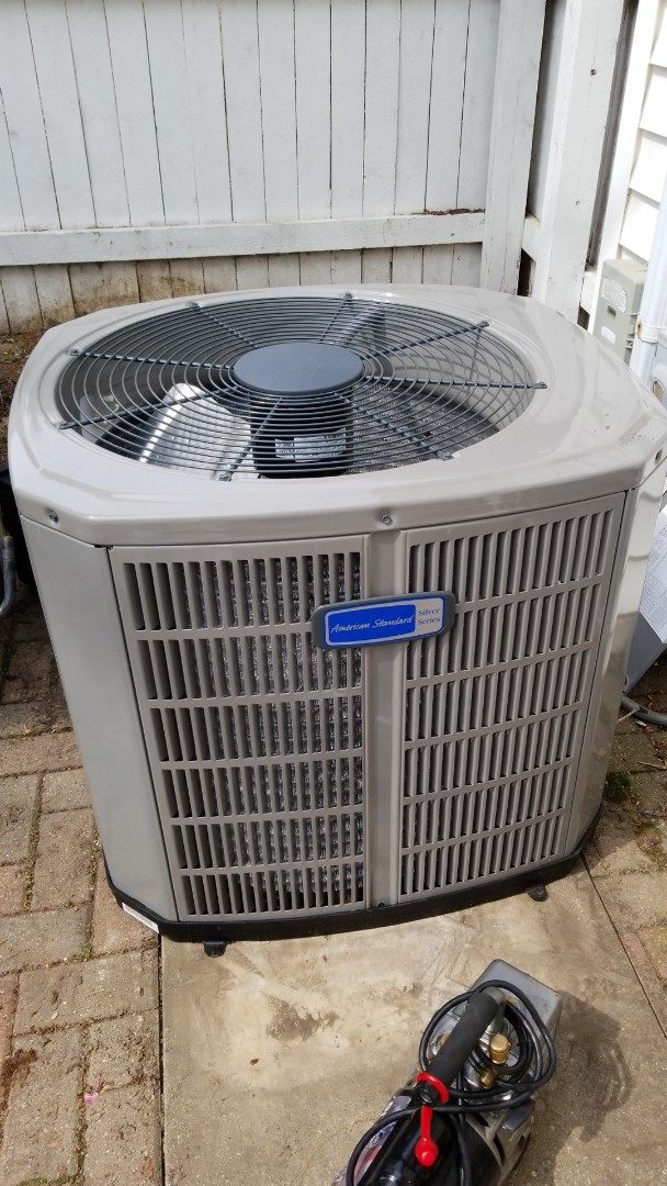 Wauwatosa, WI - Installing new American Standard air conditioner