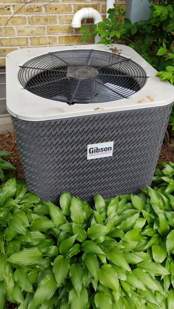 Wauwatosa, WI - Replacing gibson air conditioner with americam standard ac