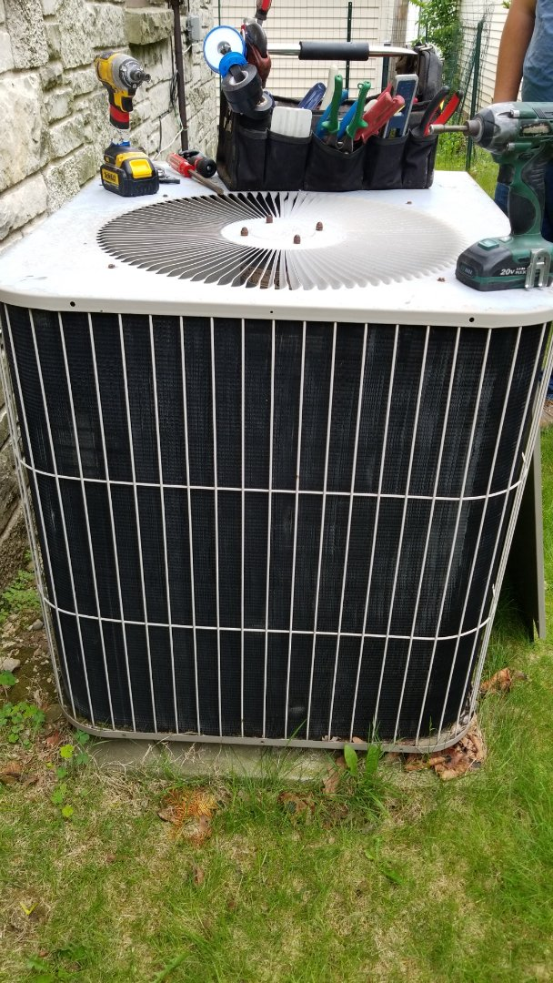 Milwaukee, WI - Replacing cooling system with American Standard AC