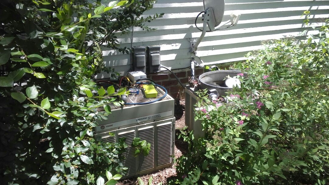 Waukesha, WI - AC Maintenance Call, Performed Tune ups on 2 Trane Air Conditioners