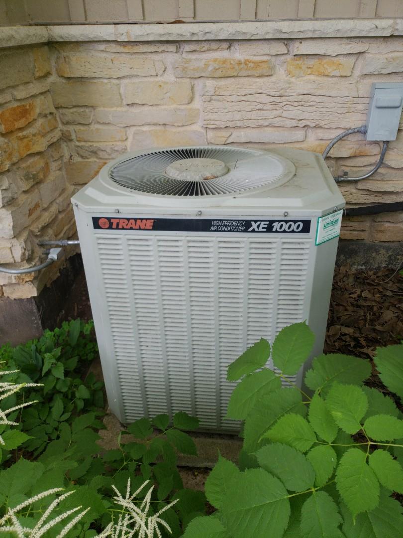 Waukesha, WI - Ac repair on trane air conditioner