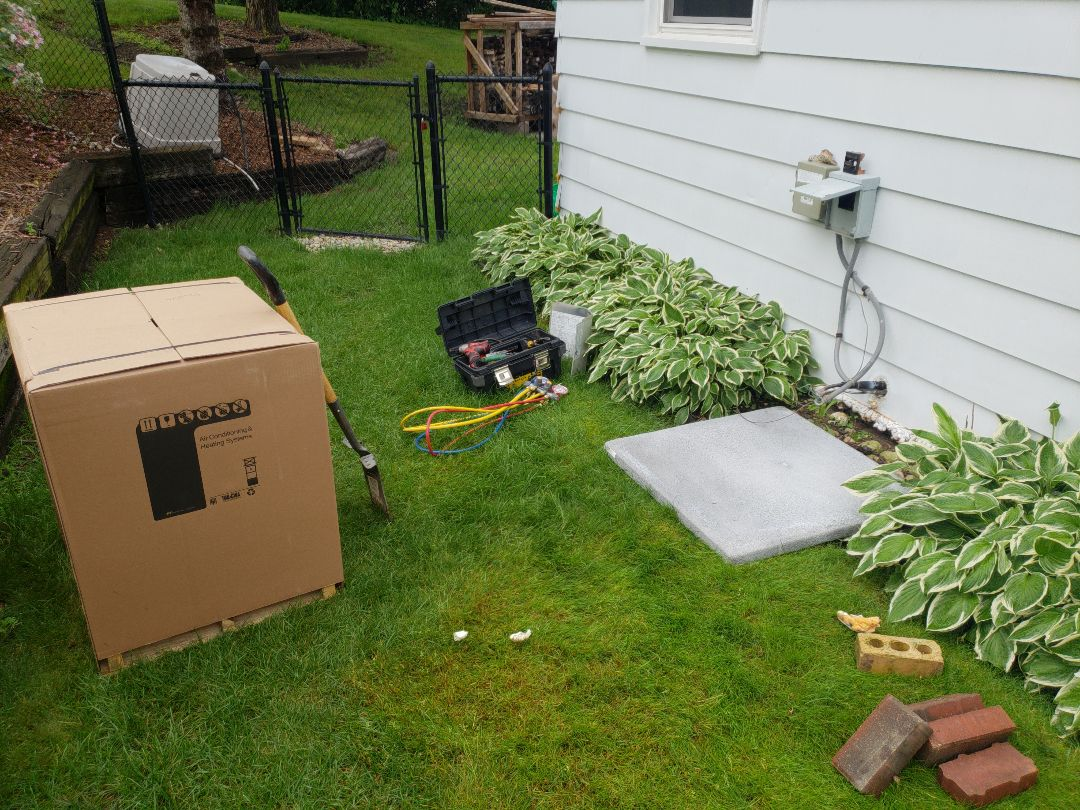 Waukesha, WI - Replacing ac with American Standard Air Conditioner