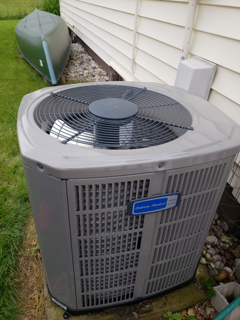 Milwaukee, WI - Ac replacement with American standard air conditioner