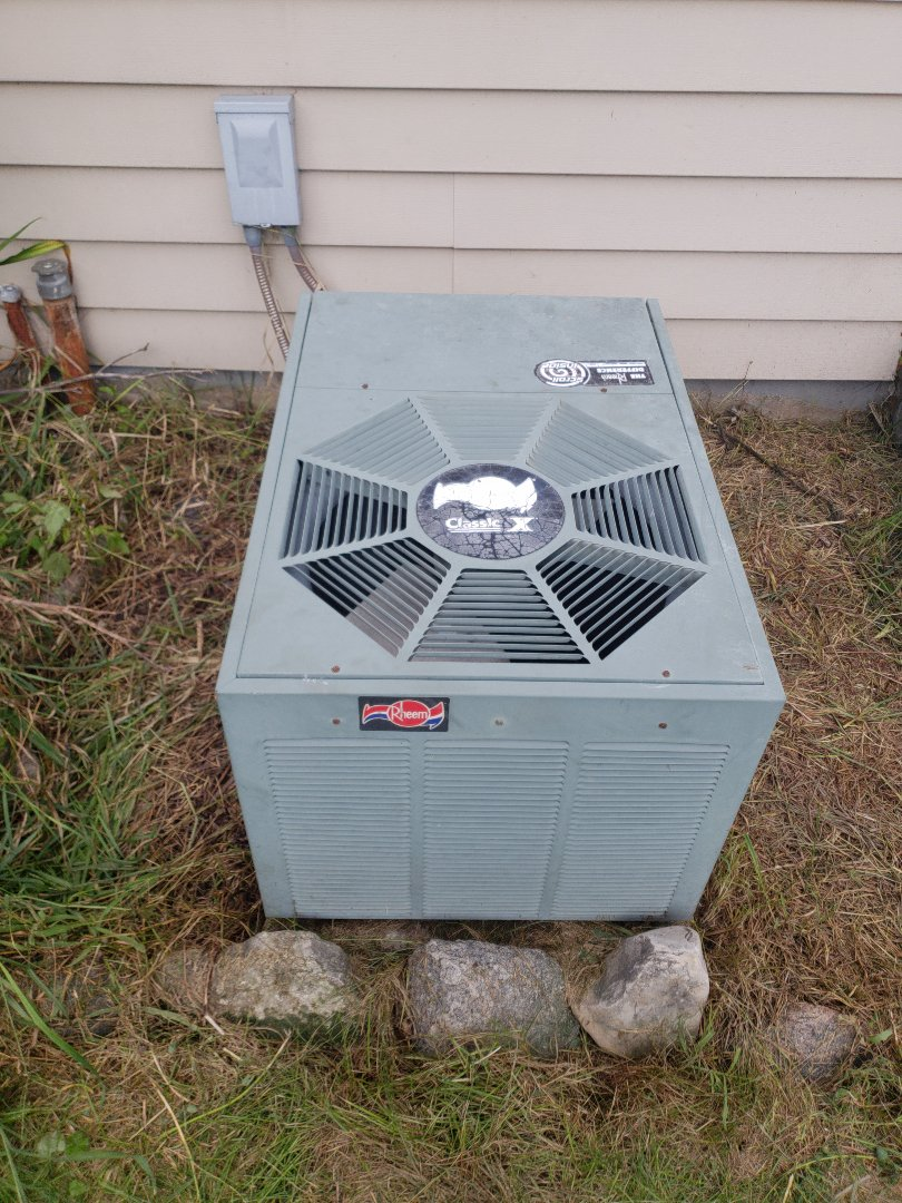 Waukesha, WI - Estimate to replace rheem air conditioner