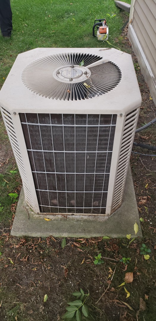 Franklin, WI - Ac repair and ac estimate to replace rheem air conditioner