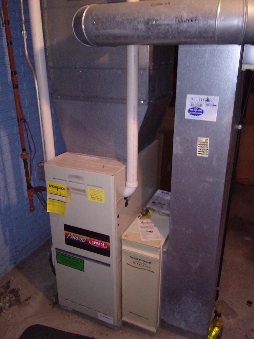 Kenosha, WI - Bryant furnace repair. Furnace repair. Hvac repair