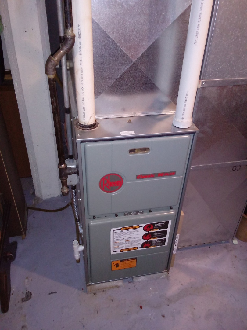 Kenosha, WI - Rheem furnace repair, furnace repair, inducer replacement, hvac repair