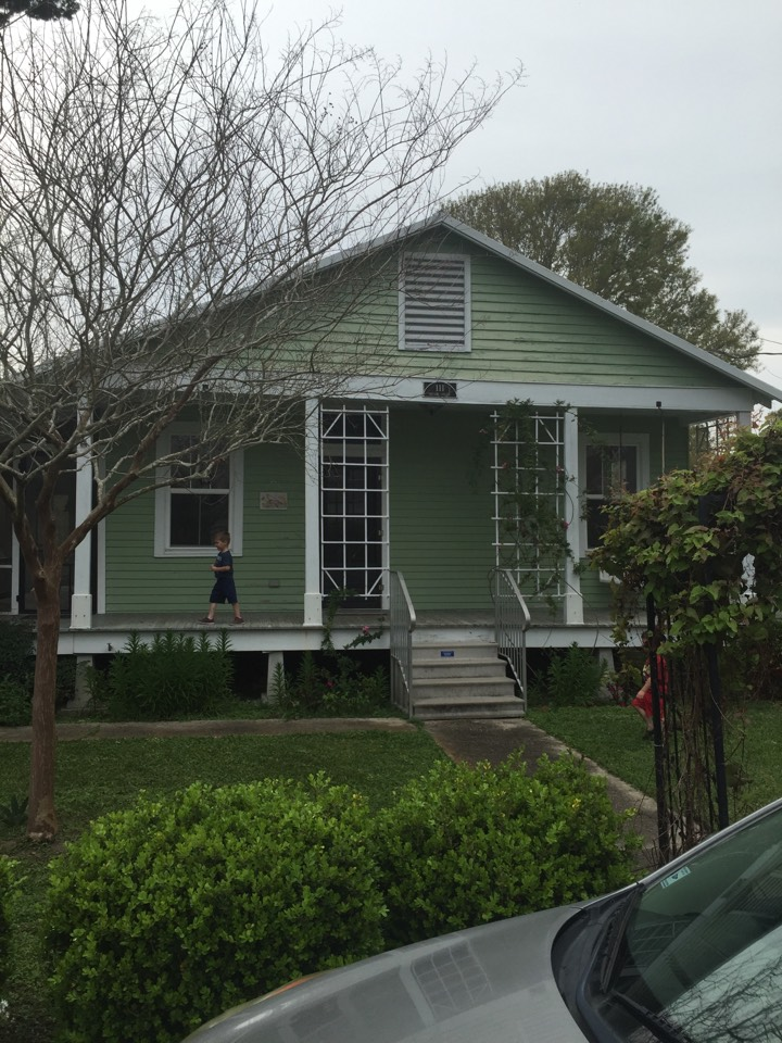 Bourg, LA - Coating a home
