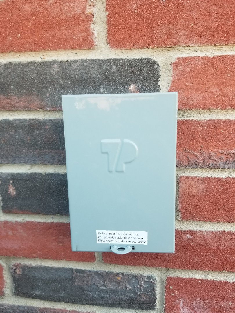 Forney, TX - Replacing disconnect box, and capacitor.
