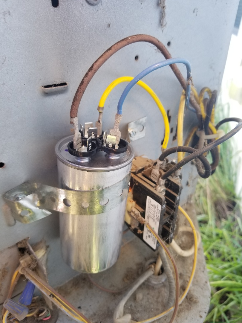 Forney, TX - Changing cap and repaired wiring. System check